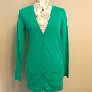 Old Navy Size XS Green Cardigan
